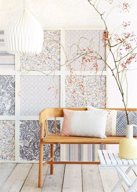Decoración estilo Patchwork
