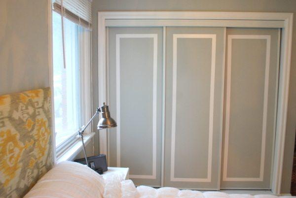 Decoración puertas armario empotrado