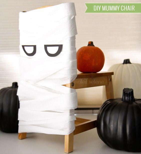 Decoración sillas Halloween
