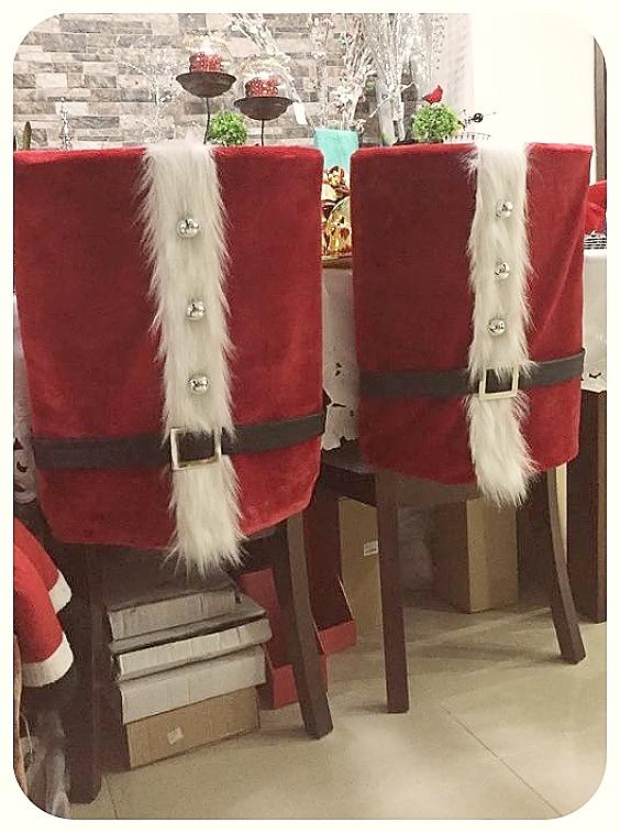Decoración sillas navidad niños