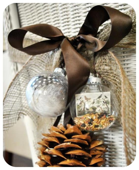 Ideas decoración sillas navidad
