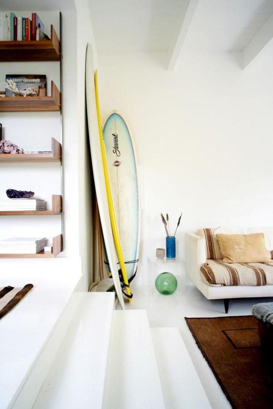 Decoración estilo surfero