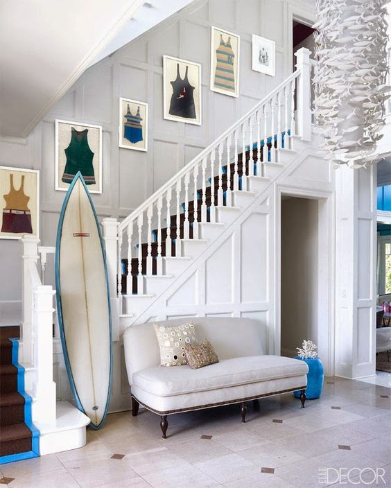 Decorar con tablas de surf