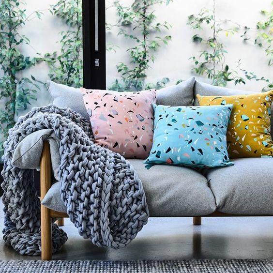 Ideas para decorar con terrazo el hogar