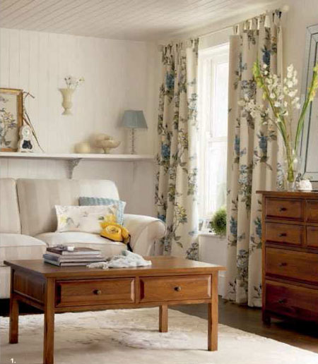 Decoracion vintage de laura ashley - Decoracion vintage salon ...