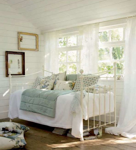 Decoracion vintage de laura ashley - Dormitorio decoracion vintage ...