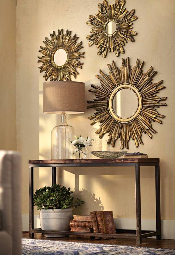 Decorar con espejo sol un cl sico que nunca pasa de moda for Espejos decorativos con forma de sol