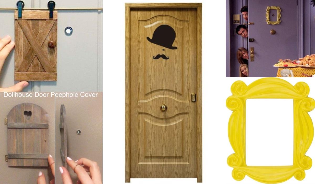 Decorar la mirilla de la puerta