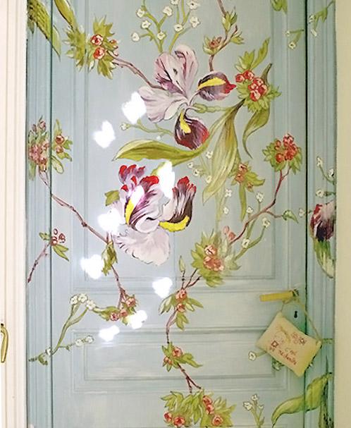 Puertas como integrarlas en la decoraci n for Puertas pintadas originales