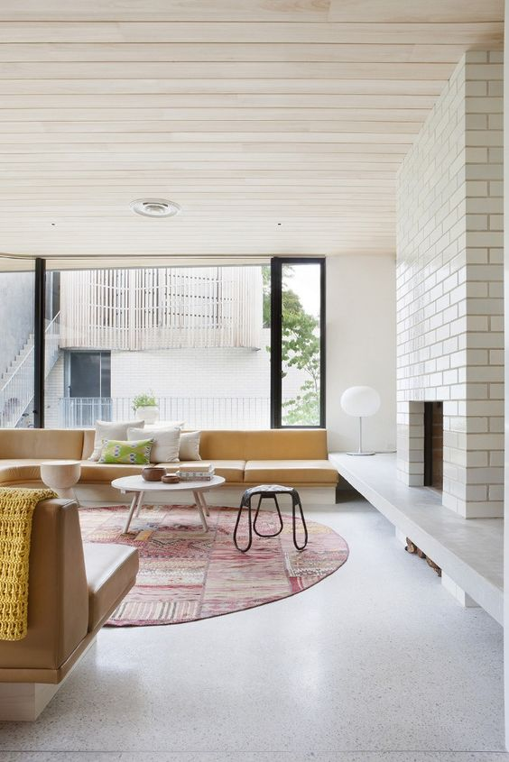 Decorar techos con madera
