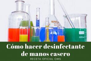 Desinfectante de manos casero – Cómo se hace