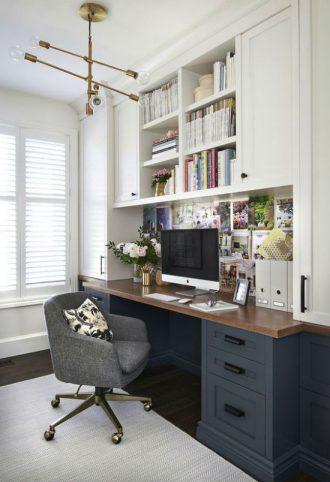 cmo decorar un despacho en casa - Decoracion Despachos