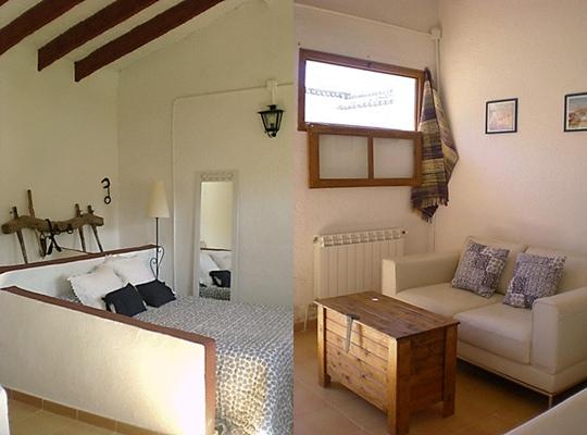 Antiguo establo convertido en dormitorio