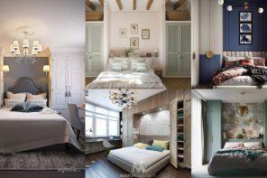 Un dormitorio con dos armarios, una idea muy práctica