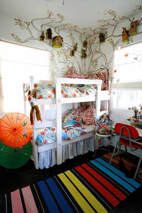 Dormitorio infantil: idea original para decorar