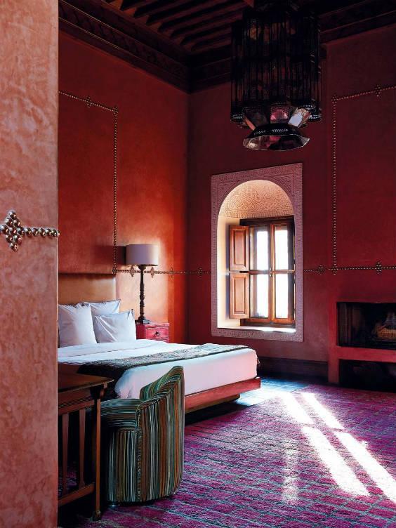 Dormitorio marroquí