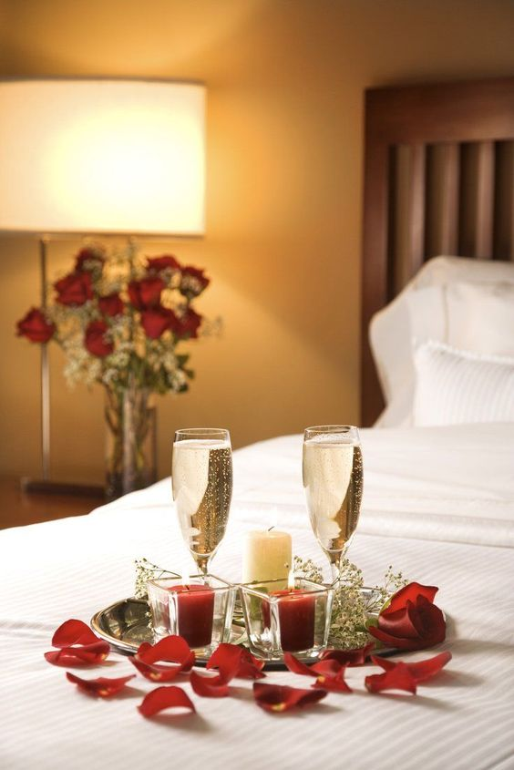 Ideas para decorar el dormitorio en San Valentín