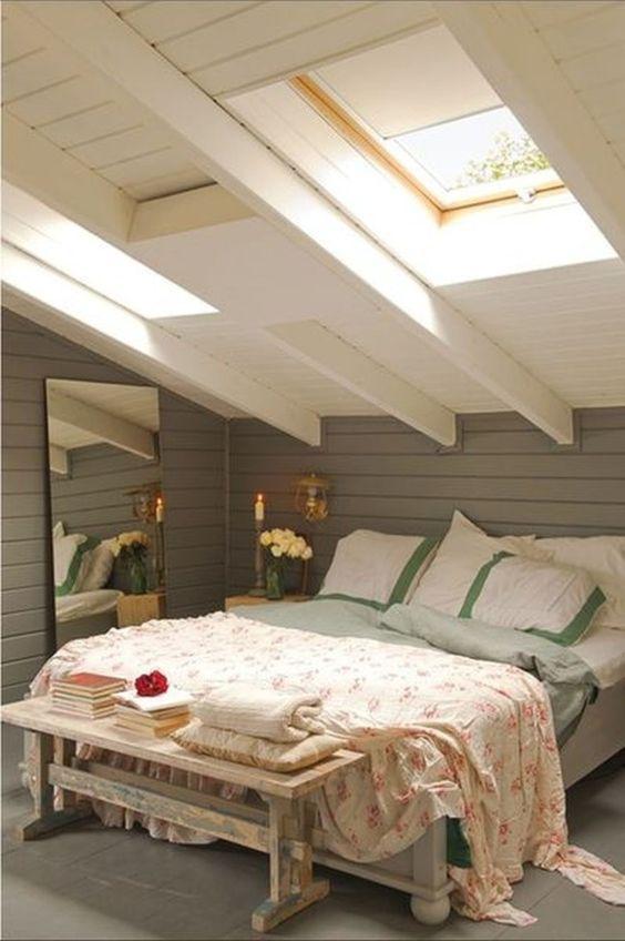 Dormitorios abuhardillados ideas