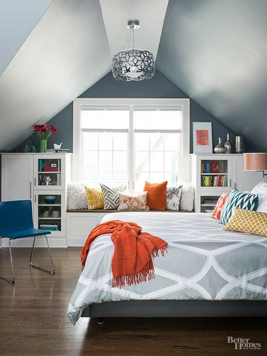 10 dormitorios abuhardillados muy acogedores - How to design a small bedroom layout ...