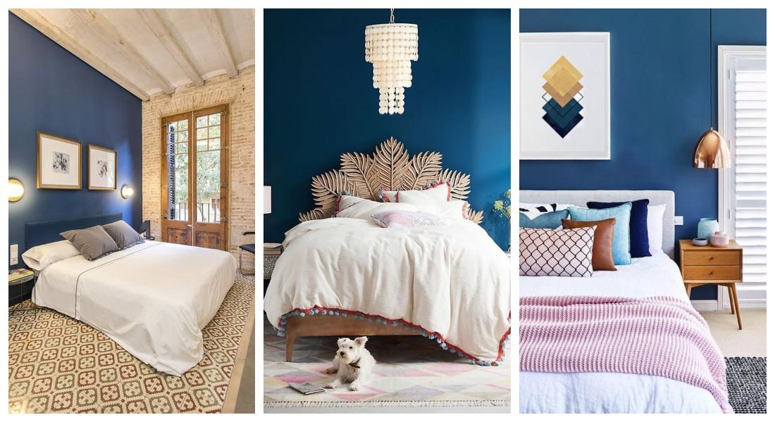 Dormitorios azules, habitaciones en azul