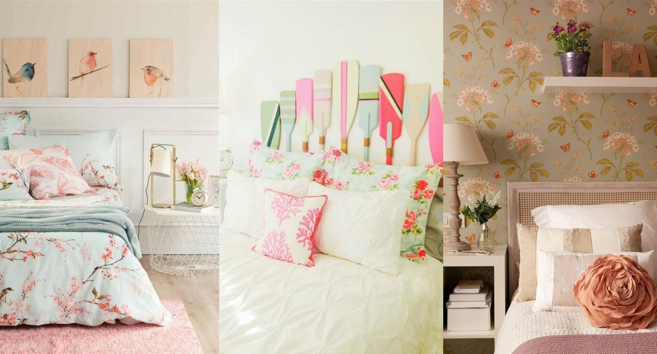 Dormitorios de estilo romántico ¡Todas las claves!