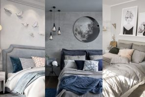 Inspiración para decorar el dormitorio en color gris
