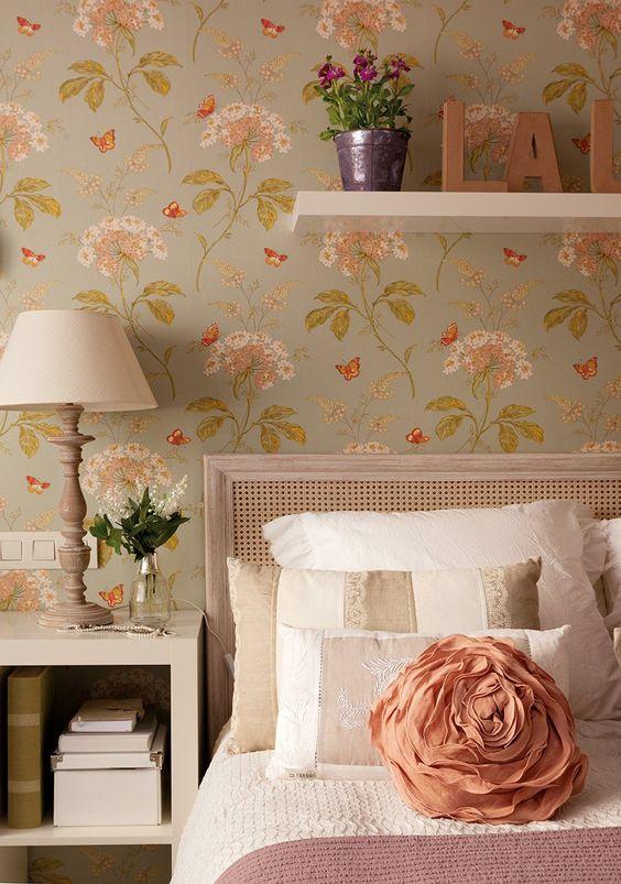 dormitorios de estilo romántico