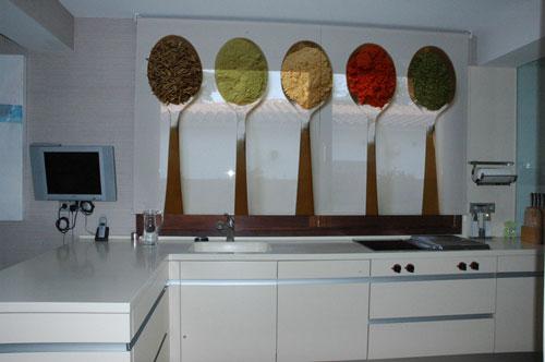 Decorar Pared Cocina. Affordable Pintura De Pizarra En La Cocina ...