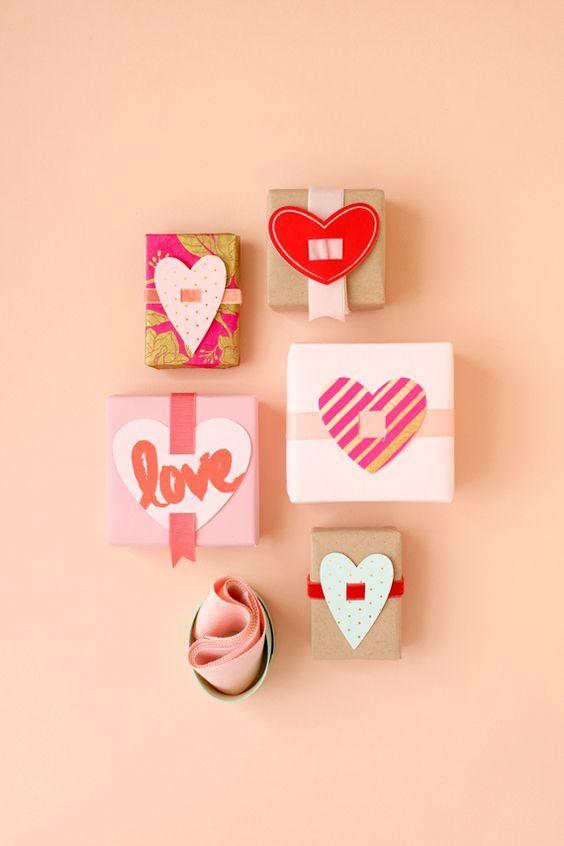 Envoltorios originales San Valentín