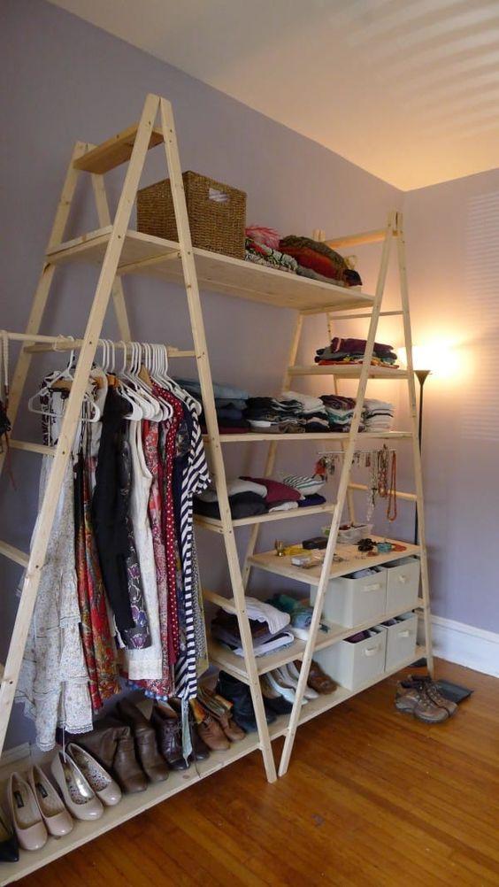 escaleras como estanterías