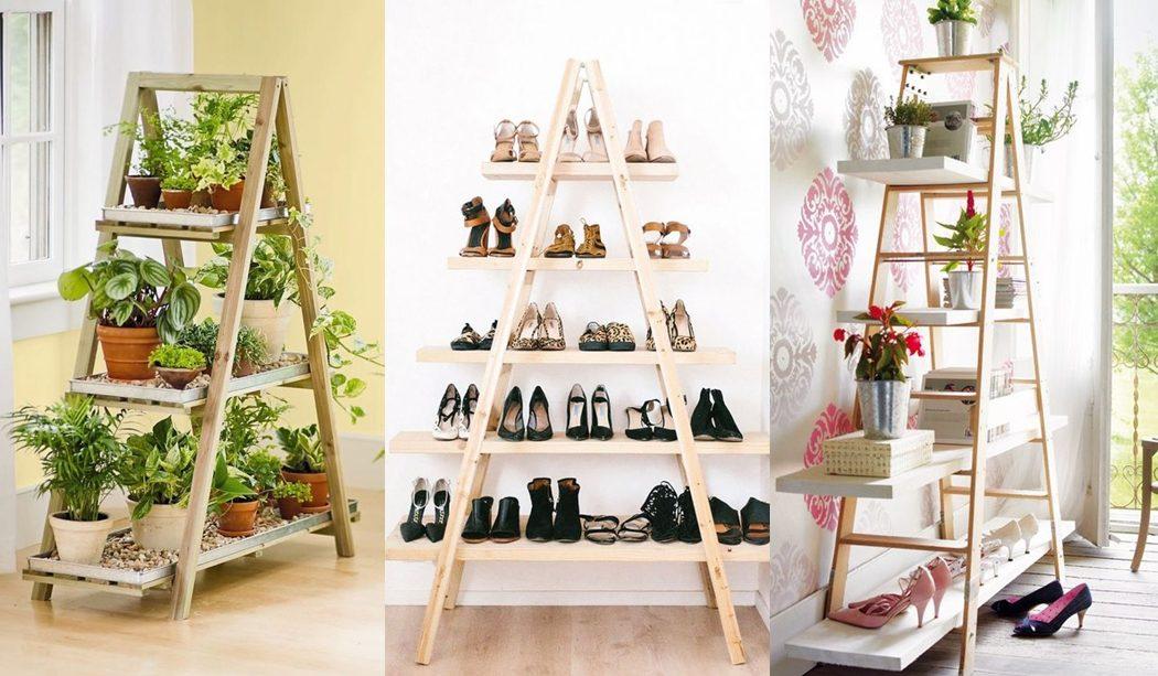 Idea: escaleras como estanterías, inspiración