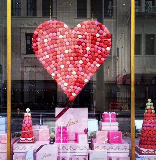 Decoración San Valentín tiendas