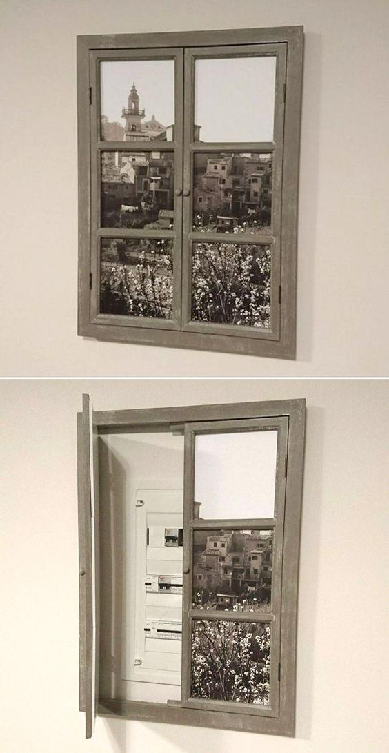 Esconder cuadro electrico