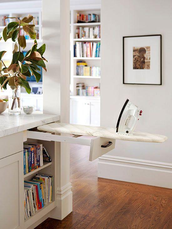 Esconder la tabla de planchar, ideas