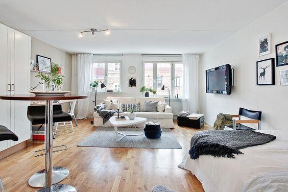 Apartamentos peque os fotos e ideas apartamentos peque os for Decoracion estudios muy pequenos