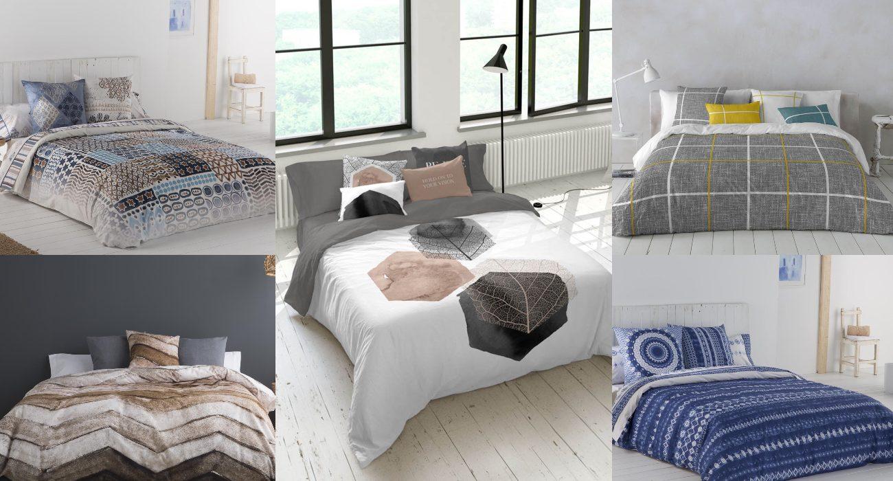 Tips para vestir el dormitorio de matrimonio con fundas nórdicas