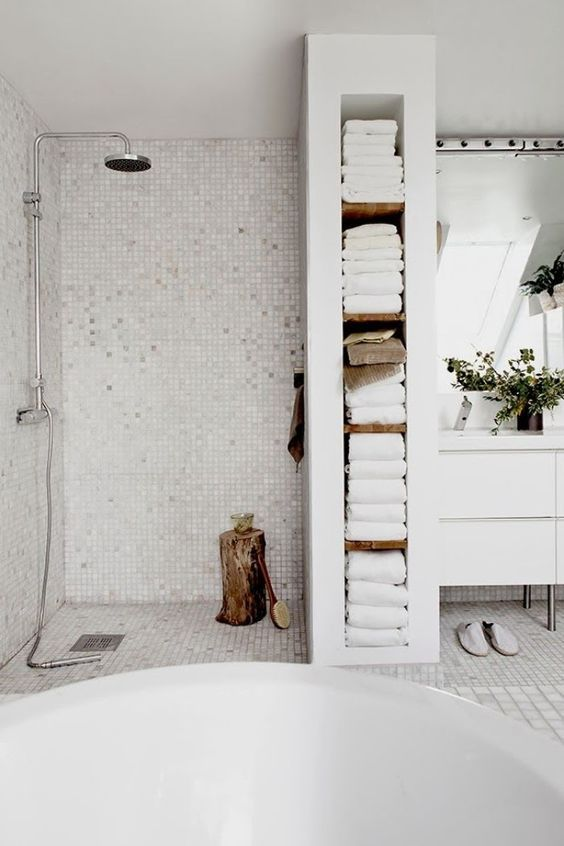 Ganar espacio en el baño