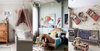 Ideas para decorar una habitación infantil vintage
