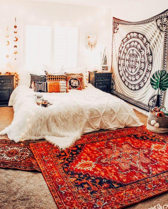 Decoración habitaciones con mandalas