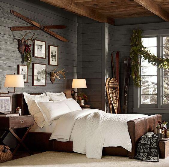 Habitaciones rusticas con madera