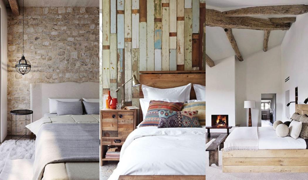 Habitaciones rusticas con encanto y personalidad