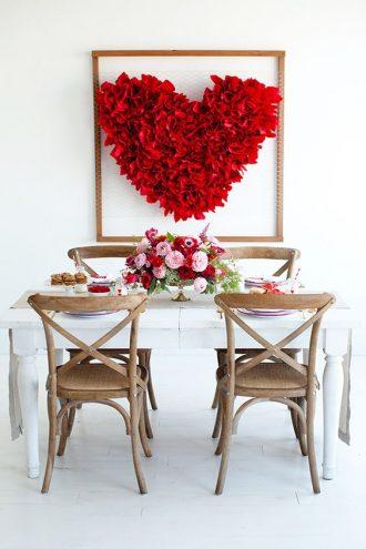 Decoracion san valentin ideas y fotos decoracion san for Ideas decoracion san valentin