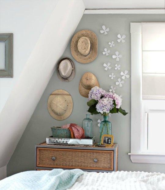 Decorar paredes con sombreros mira qu bonitos quedan for Ideas para decorar el hogar