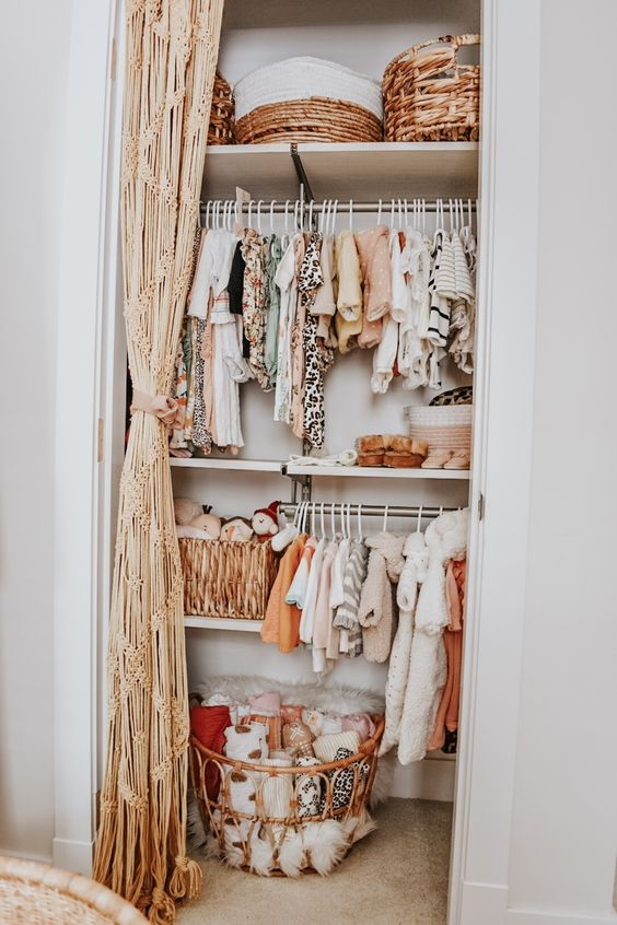 Imprescindibles habitación bebé: almacenaje