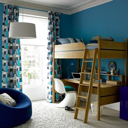 Habitaciones infantiles decoradas en azul - Habitaciones infantiles decoradas ...