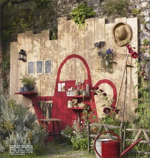 Idea decorativa para el jardín