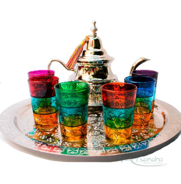 Comprar juego de té marroquí