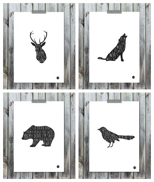 laminas-siluetas-animales
