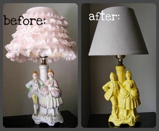 Transformar una lámpara de pié