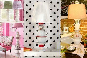 DIY Lámpara de cerámica